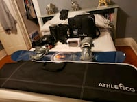 Snowboarding equipment some new never used
