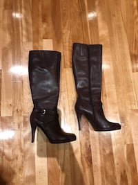 Nine West leather boots Laval, H7W 3N7