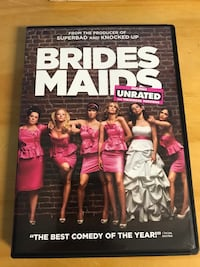 Bridesmaids dvd Chaska, 55318