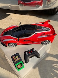 Remote controlled Ferrari