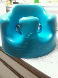 baby's blue Bumbo floor seat Vancouver, V5X 2L2