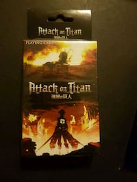 Attack on Titan Playing Cards Delta, V4C 1C8
