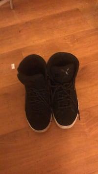 pair of black Nike Air Force 1 low shoes Las Vegas, 89121