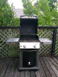 black and gray gas grill Chicago, 60608