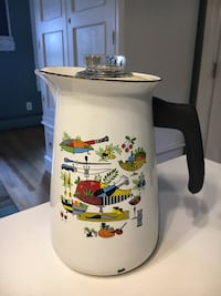 Berggren enamel coffee percolator 50 km