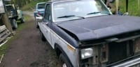 Gray and black single cab pickup truck Orting, 98360