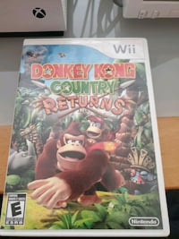 Wii donkey Kong country returns  West Springfield, 22152