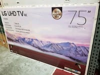 "75"" 75"" latest model TV available by LG.  Los Angeles, 90014"
