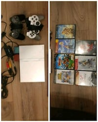Like new slim PS2 with 7 games and 2 controllers Coquitlam, V3K 7B1