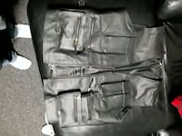 Leather motorcycle vest Redwater, T0A 2W0