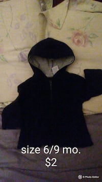 black zip-up hoodie Brownsville, 78520