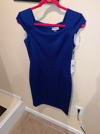 Royal blue Calvin Klein dress