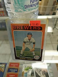 Robin yount rc card Galesburg, 61401
