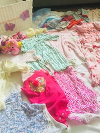Vibrant baby girl items up to 3 months pick up Coventry hilld Calgary, T3K 6J7