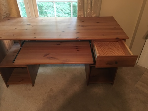 Beautiful solid wooden desk for sale