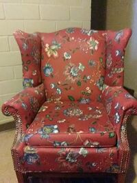 red and white floral sofa chair Charleston, 29403