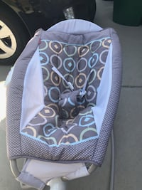 baby's blue and white bouncer McKinney, 75071