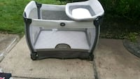 baby's gray and white travel cot Westampton, 08060