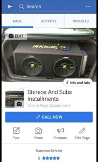 Stereos and Subs installments