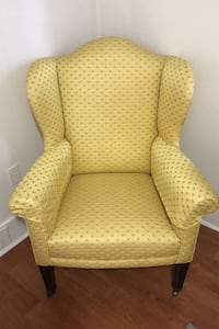 Fun Yellow Antique Chair