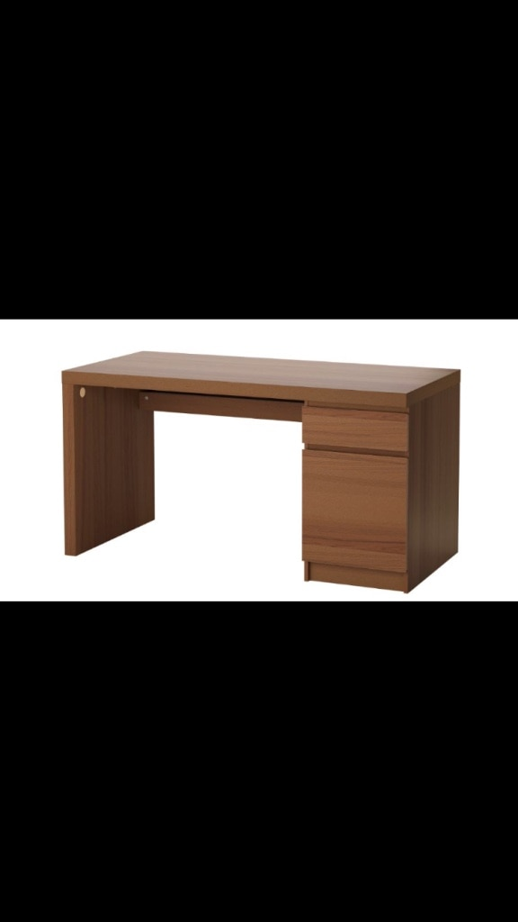 Bon Brown Malm IKEA Desk
