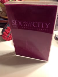 Sex and the city dvd complete series in case