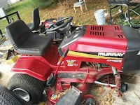 red murray ride-on lawn mower