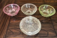 Vintage Set Of 3 KIG Indonesian Bowls And A Covered Dish! Cerritos, 90703