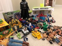 Assorted color plastic toy lot Guelph, N1L