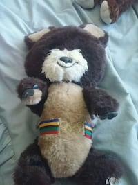 brown and white bear plush toy Fort Erie, L2A 2N1