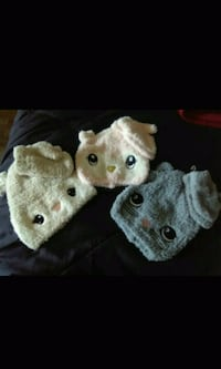 3 brand new toddler girl hat and glove sets $10.00 Spartanburg, 29303