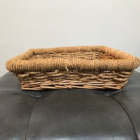 Storage Wicker Basket Twin Lake, 49457