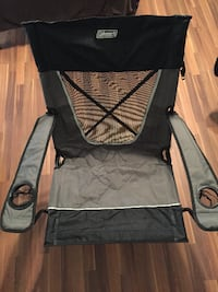 Used Coleman Ultimate Comfort Sling Chair Folding Camping
