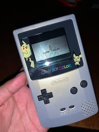 Silver and Gold Pikachu Edition Gameboy Color
