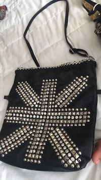 Black studded London purse Mississauga, L4Z 4A2