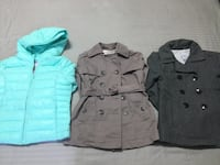 Girls Assorted Jackets (Size 6-8) Mississauga, L4Y 3G8