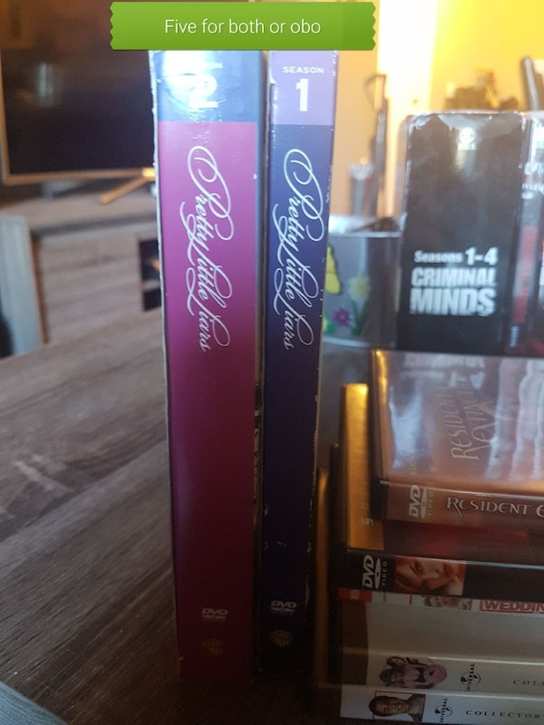 two Pretty Little Liars DVD cases