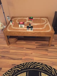 This is hand made Thomas train wood table Katy, 77450
