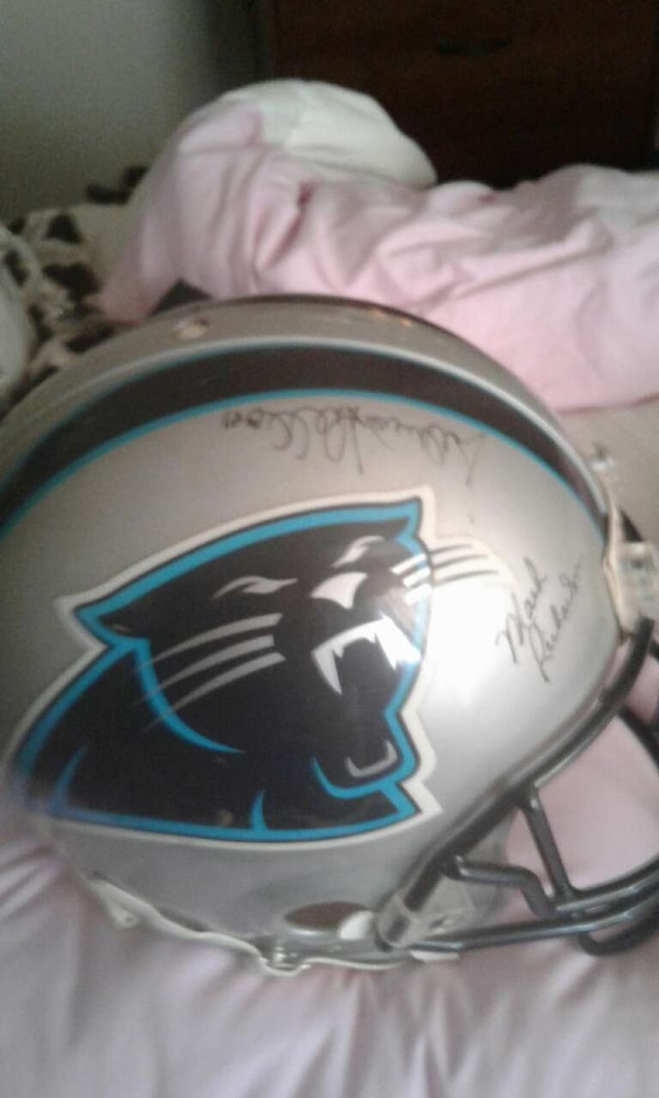 low priced bcb0f 18bf8 Official NFL Carolina Panthers Autographed Footbal