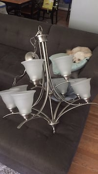 Perfect condition Chandelier! Cat no. And vin on the output Rockville, 20852