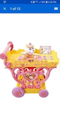 Disney Princess Belle musical tea cart Alexandria, 22310
