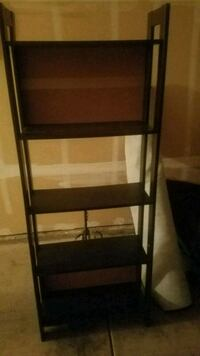"BLACK SHELF (measurements: 65""T/24""W/10""D) Fresno, 93720"
