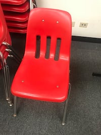 Red Chairs! $5.00 each!  Bridgeview, 60455