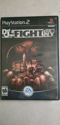 Def jam fight for New York CIB for the playstation 2 Toronto, M6M 2C5