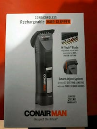 Conair Man Rechargable Cordless HAir Clipper