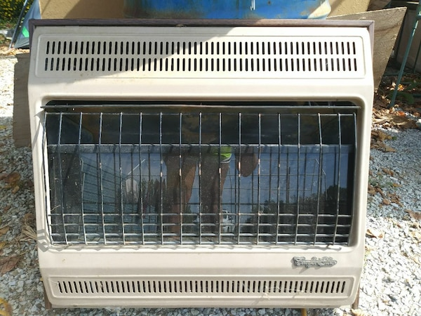 Used Comfort Glow Blue Flame Propane Lp Gas Heater For Sale In