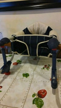 Chicco Hippo Hook on Table Chair in Navy & Beige Old Bridge Township, 08859