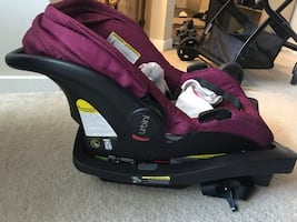 Infant car seat with stroller