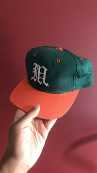 green and orange fitted cap Surrey, V3W 3H2