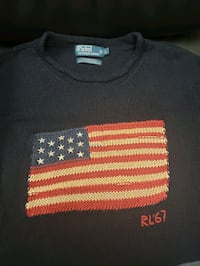 Polo American Flag Sweater - Perfect 4th July Gift